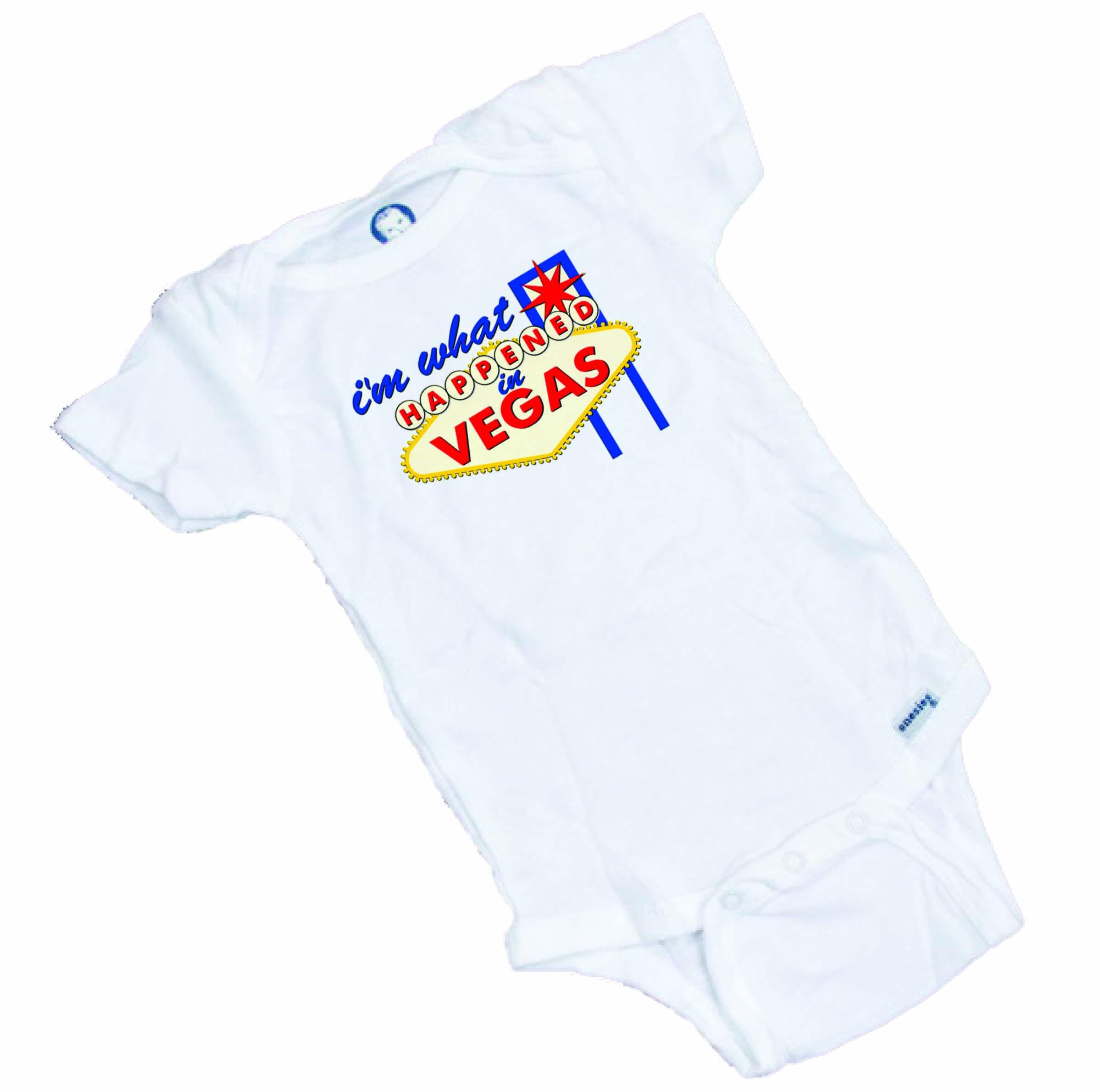 I\'m What Happened in VEGAS Funny baby onesie / Bodysuit | Wonderful ...